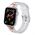 Apple Watch 1/2/3/4/5/6/SE Stilig Silikonreim - 38mm, 40mm