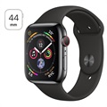 Apple Watch Series 4 LTE MTX22FD/A - Rustfritt Stål, Sport Band, 44mm, 16GB