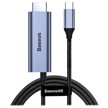 Baseus C-Video Pro 4K USB-C / HDMI Adapter - Grå