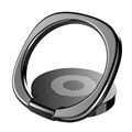 Baseus Privity Magnetisk Ring Holder til Smartphones - Svart