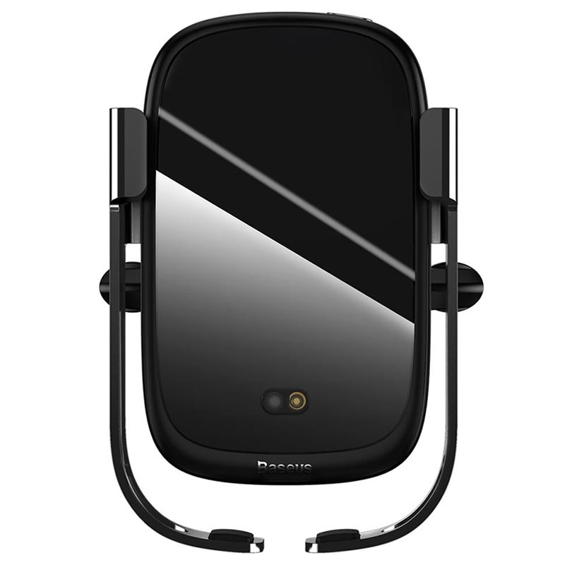 Baseus Rock Solid Trådløs QI lader og holder til iPhone