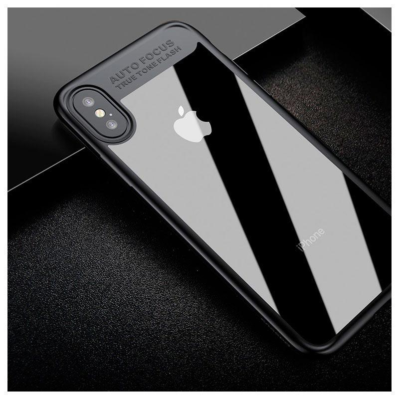 Iphone x baseus suthin hybrid deksel svart - Deksel x ...