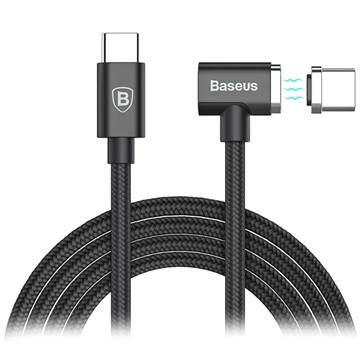 Baseus Type-C Magnet Kabel til MacBook - L-Form