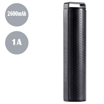 Cager T09 Bærbar Mini Powerbank - 2600mAh