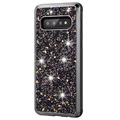 Diamond Series Samsung Galaxy S10 Hybrid-deksel