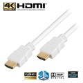 High Speed HDMI / HDMI Kabel - Hvit