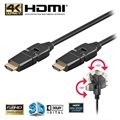 Goobay High Speed HDMI-kabel med Ethernet - Roterbar