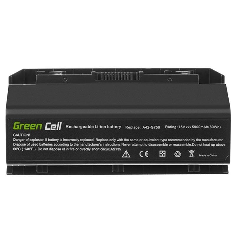 Green Cell LaderAdapter Asus ROG G750, G75, MSI GT60