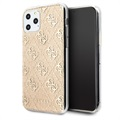 Guess 4G Glitter iPhone 11 Pro Deksel - Gull