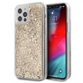 Guess 4G Liquid Glitter iPhone 12 Pro Max Hybrid-deksel