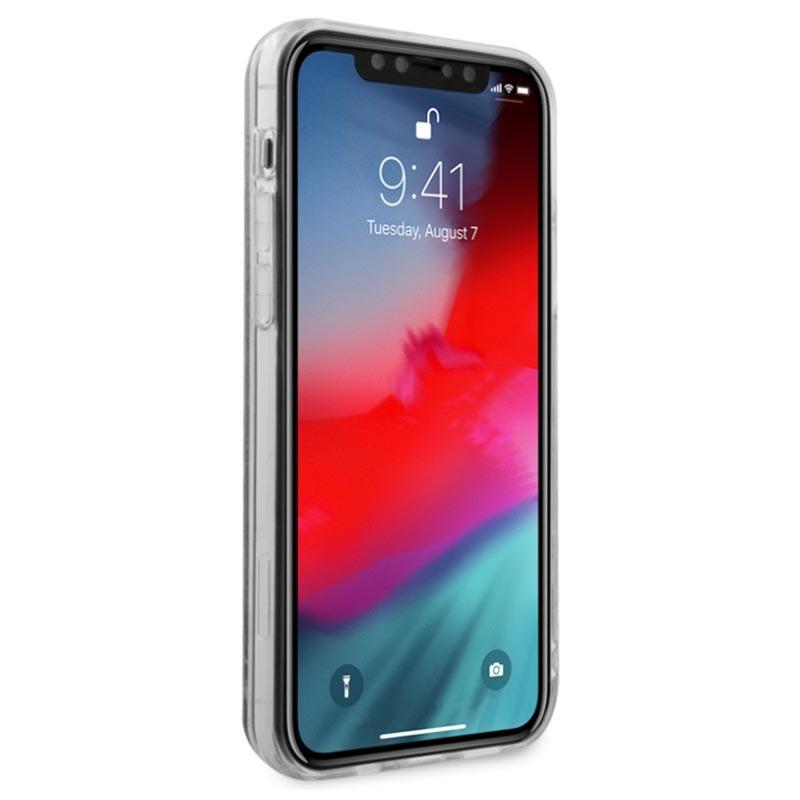 Guess 4G Liquid Glitter iPhone 12 Pro Max Hybrid-deksel ...