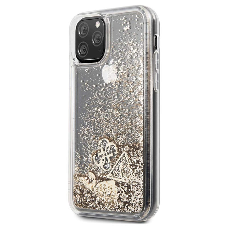 Guess Glitter Collection iPhone 11 Pro Deksel
