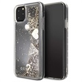 Guess Glitter Collection iPhone 11 Pro Max Deksel - Gull