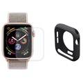 Hat Prince Apple Watch Series 5/4 Full Beskyttelsessett - 40mm - Svart