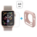 Hat Prince Apple Watch Series 5/4 Full Beskyttelsessett - 44mm - Rosa