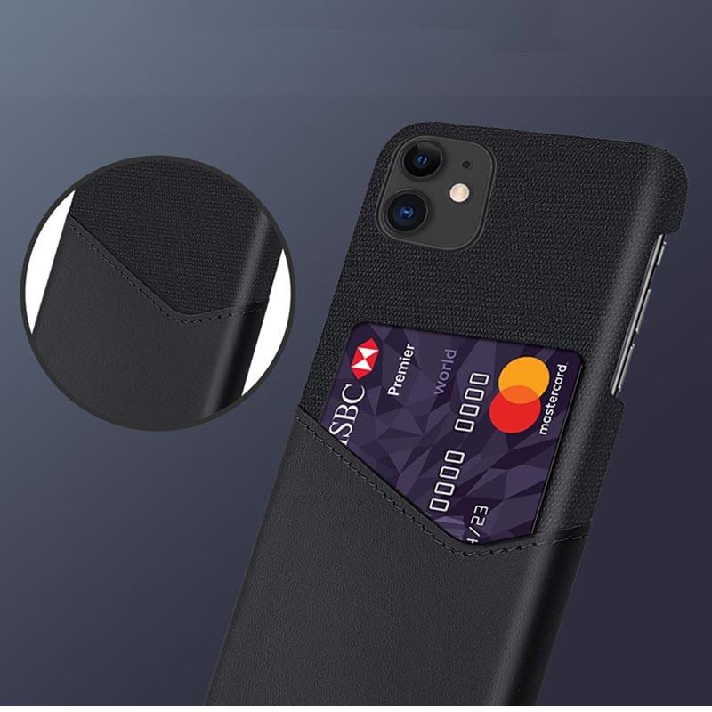 KSQ OnePlus 7 Pro Deksel med Kort Lomme