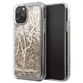 Karl Lagerfeld Signature Liquid Glitter iPhone 11 Pro Deksel