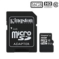 Kingston Canvas Select MicroSDHC Minnekort SDCS/16GB - 16GB