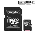 Kingston Canvas Select MicroSDXC Minnekort SDCS/128GB - 128GB