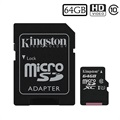 Kingston Canvas Select MicroSDXC Minnekort SDCS/64GB - 64GB