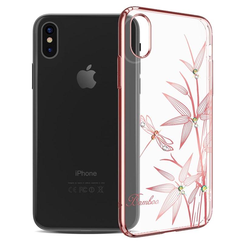 Iphone x kingxbar elegance series deksel bambus - Deksel x ...