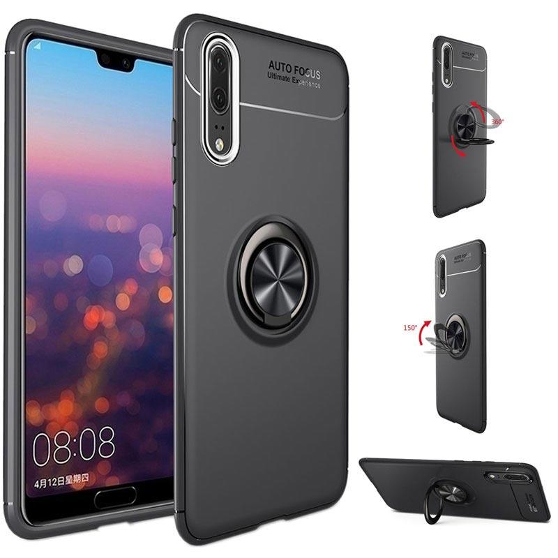 Huawei P20 Pro Silikondeksel Fleksibelt og Matt Svart