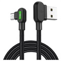Mcdodo Night Elves 90-graders MicroUSB-kabel - 1.8 m - Titan Svart