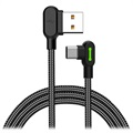 Mcdodo Night Elves 90-graders USB-C Kabel - 1.8m - Titan Svart