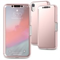 Moshi StealthCover iPhone XR Flip-deksel - Rosa