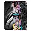 iPhone X / iPhone XS NXE Unique Series TPU-deksel - Øyestikker