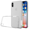 iPhone X / iPhone XS Nillkin Nature Series 0.6mm TPU-deksel