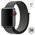 Apple Watch Series 5/4/3/2/1 Nylon Reim - 40mm, 38mm