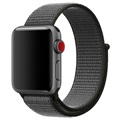 Apple Watch Series 5/4/3/2/1 Nylon Reim - 44mm, 42mm - Army Grøn