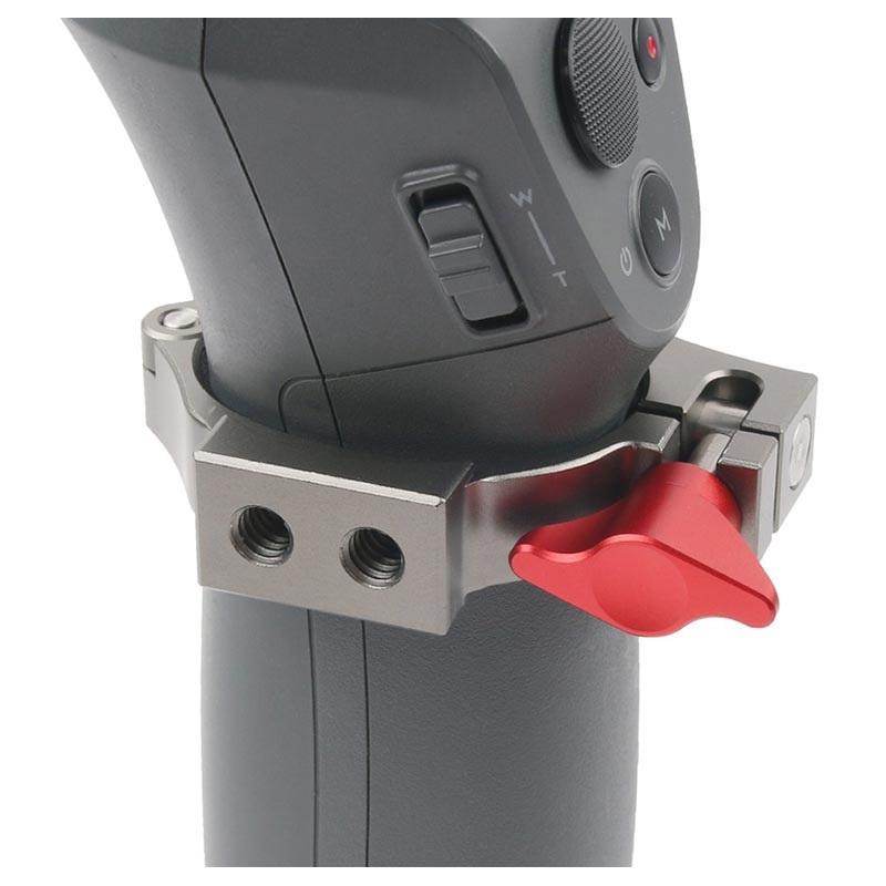 O Ring Clamp med Cold Shoe Adapter til Dji Osmo Mobile 2