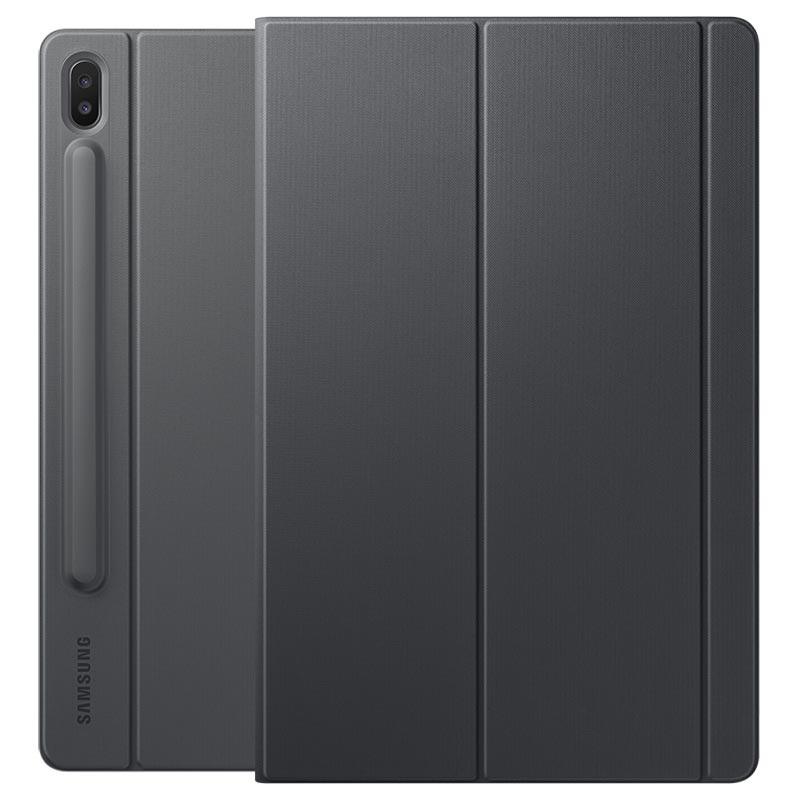 Samsung Book etui til Galaxy Tab S6 (grå) Tilbehør iPad og