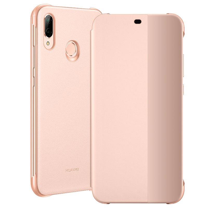 Huawei P20 Lite Smart View Flip Deksel 51992315 Rosa