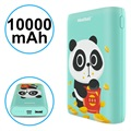 Pisen Meatball Stilig Powerbank - 10000mAh - Cyan