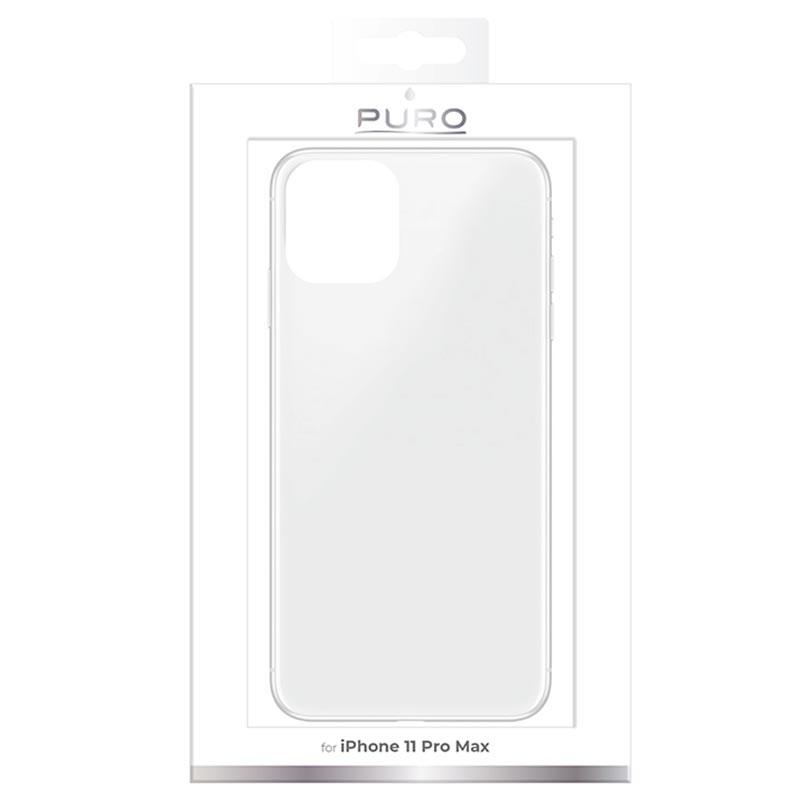 Puro 0,3 Nude iPhone XR, Transparent Silikondeksel