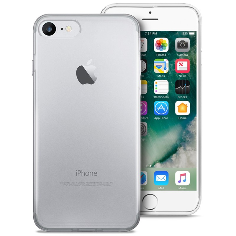 iPhone 7/8/SE (2020) Puro 03 Nude Deksel