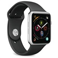 Puro Icon Apple Watch Series 5/4/3/2/1 Silikonreim - 38mm, 40mm