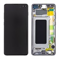 Samsung Galaxy S10+ Frontdeksel & LCD-skjerm GH82-18849A
