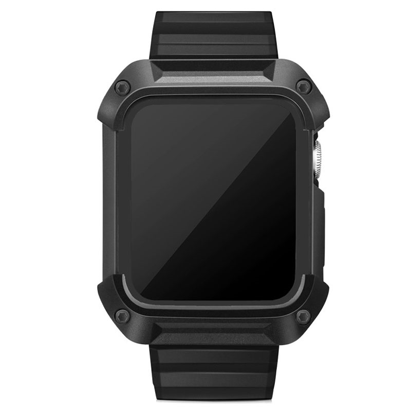 Apple Watch Series 1/2/3 Silikon Sportsrem og Deksel - 42 mm
