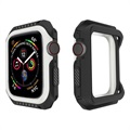 Apple Watch Series 4 Silikondeksel - 40mm - Svart / Hvit