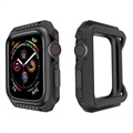 Apple Watch Series 4 Silikondeksel - 44mm - Svart