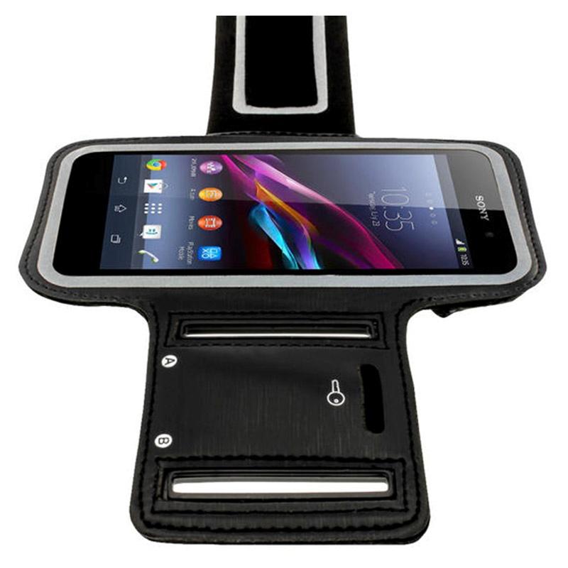 Sony Xperia Z1 iGadgitz Anti-Slip Neoprene Armbånd