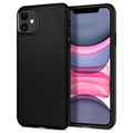 Spigen Liquid Air iPhone 11 TPU-deksel - Svart