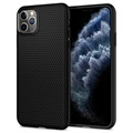 Spigen Liquid Air iPhone 11 Pro Max TPU-deksel - Svart
