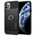 Spigen Rugged Armor iPhone 11 Pro Deksel - Svart