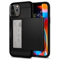 Spigen Slim Armor CS iPhone 12/12 Pro Deksel - Svart