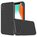 Suitcase Series iPhone X / iPhone XS Hybrid-deksel